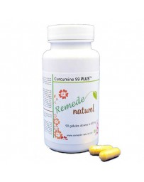 Curcumin 99 PLUS 100% Pure - Pot of 90 Capsules 400 mg.