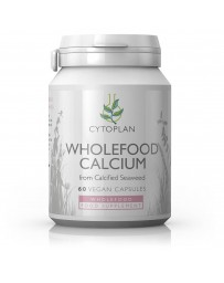 Wholefood Calcium - Naturel - 60 Capsules - 200mg.