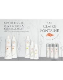Natural cosmetics A la claire fontaine