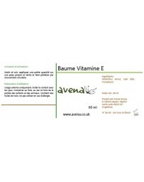 Baume à la vitamine E