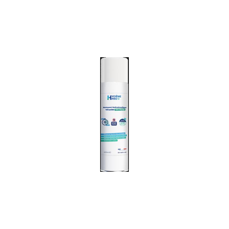 Aérosol nettoyant hydroalcoolique virucide
