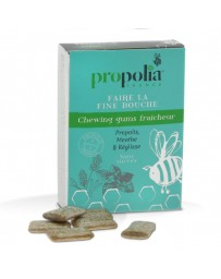 Chewing gums Propolis & Menthe