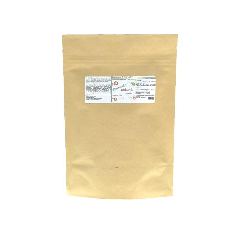 Curcumin & Resveratrol - Pot of 90 Capsules - 330 mg
