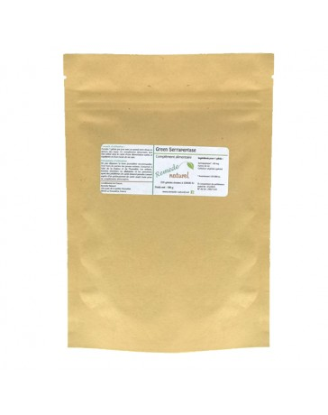 Green Serrapeptase  200 ou 500 gélules - 120000 IU