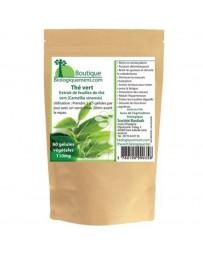 Green tea in capsules
