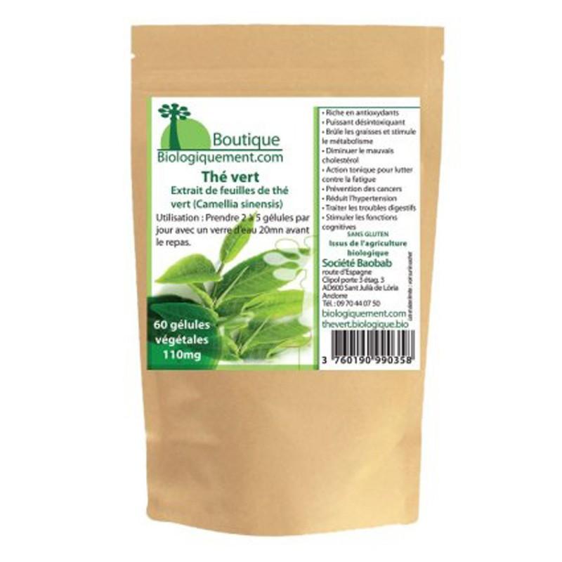 Thé vert en gélules