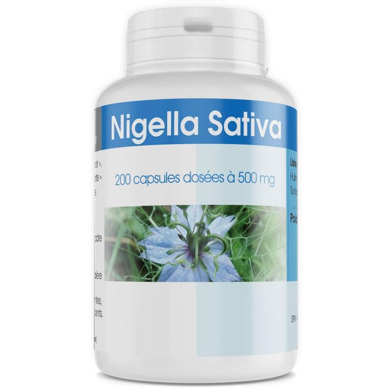 Nigella oil in capsule