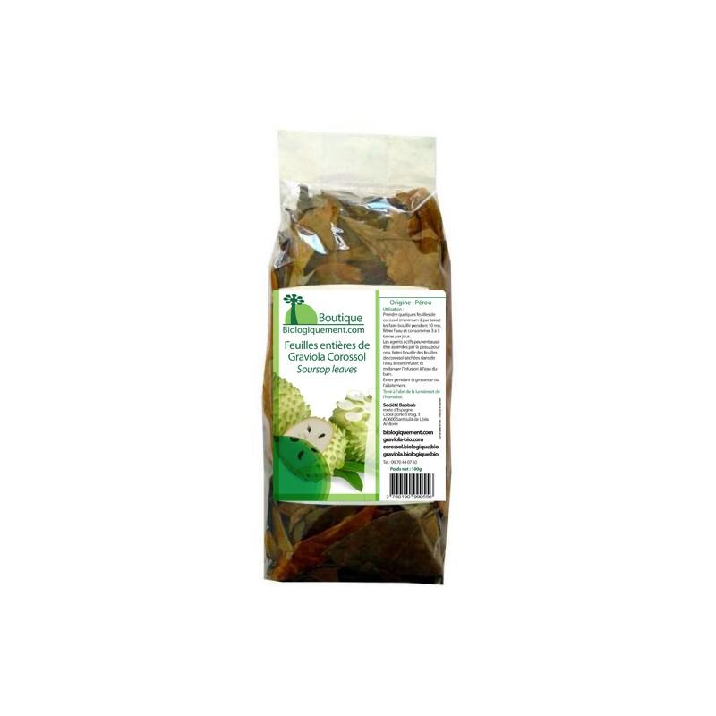 Graviola Corossol - whole leaves