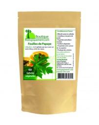 Papaya leaf in capsules