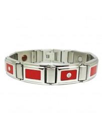 Bracelet Magnétothérapie - Rouge