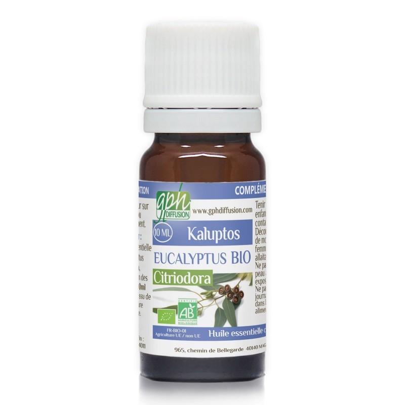 Eucalyptus citriodora [huile essentielle]