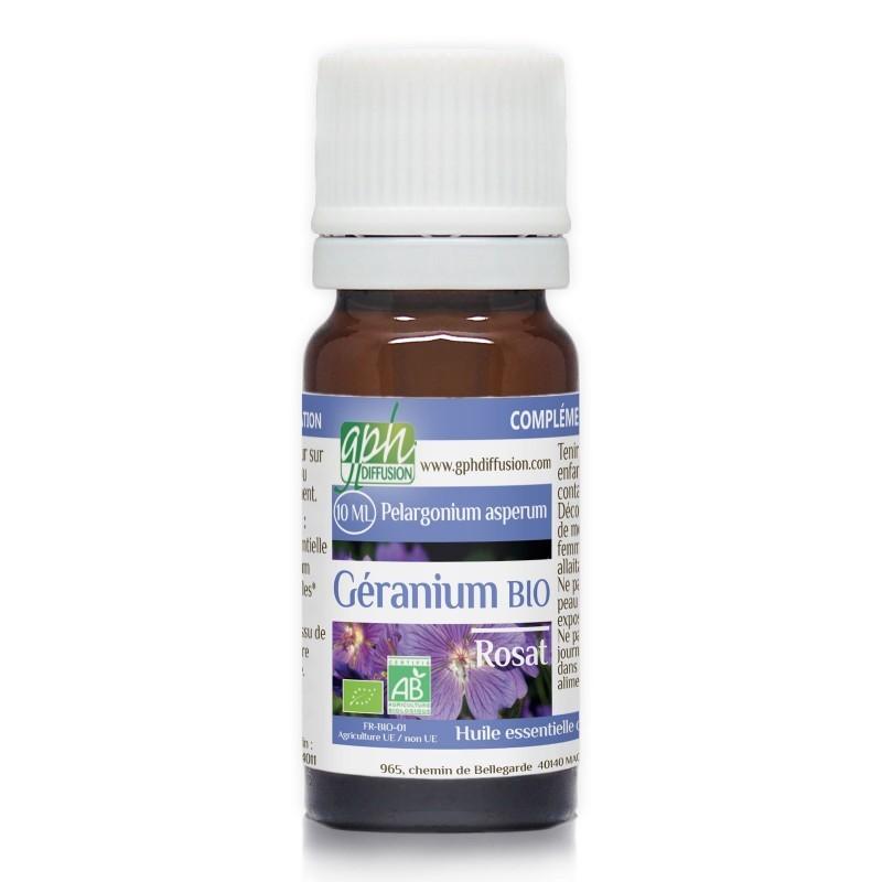 Géranium [huile essentielle]